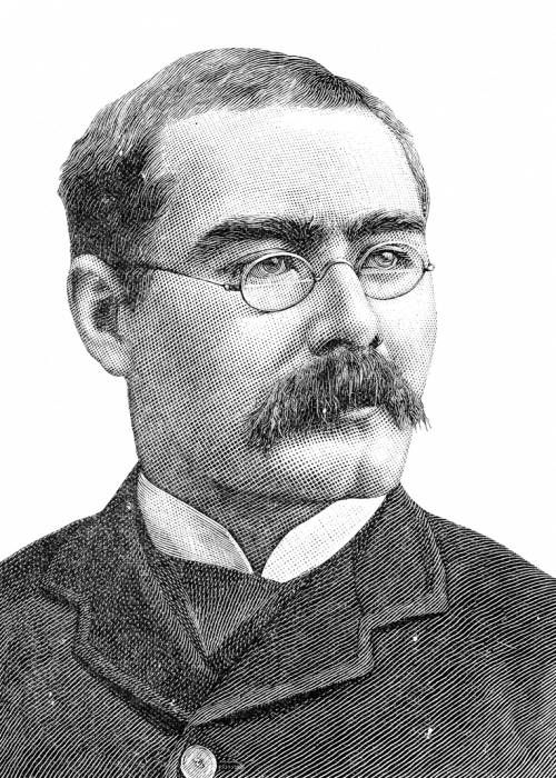 Rudyard Kipling (1865-1936), English journalist, poet, and novelist